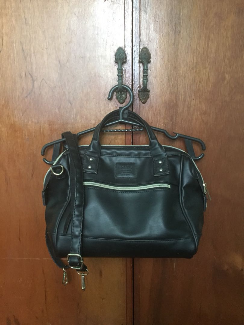 Anello 3 Way Leather Bag