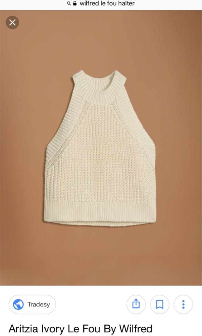 Aritzia - Le Fou by Wilfred Minette Halter Tank