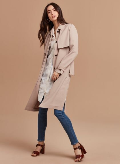 Aritzia Wilfred Louvinel Trench Coat