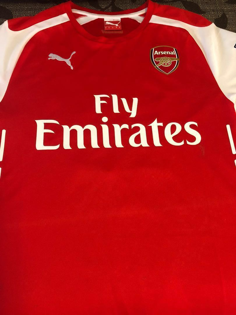 innovative design acb31 2bf6d Authentic Arsenal jersey Alexis Sanchez, Sports, Athletic ...