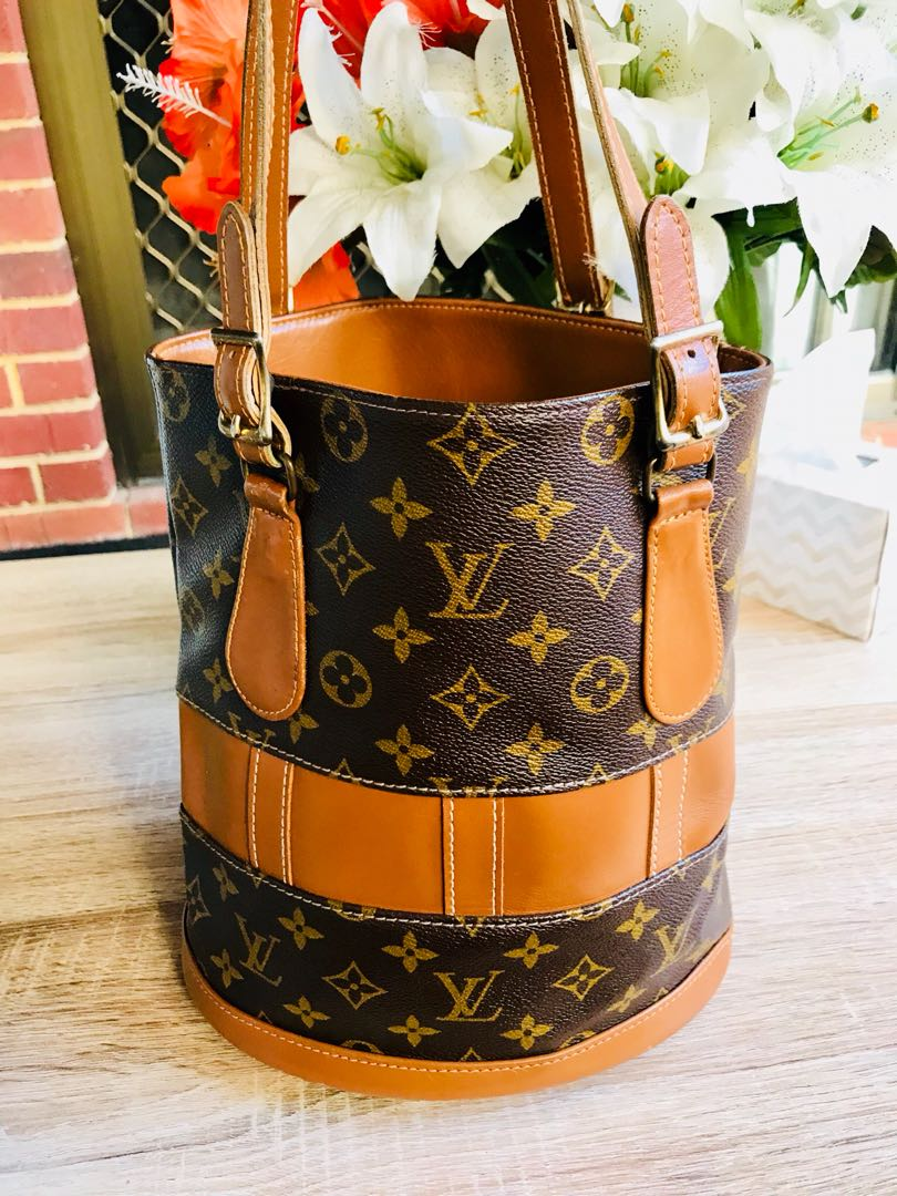 Authentic Vintage Louis Vuitton Vuitton Bucket Bag PM The French Company Made in USA