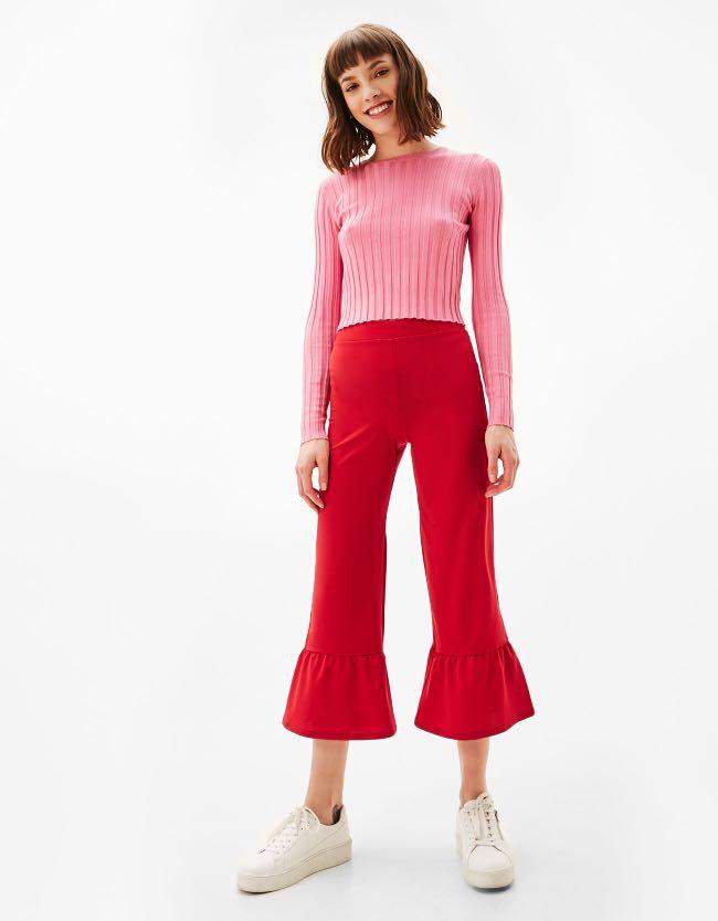 Bershka Flare Pants