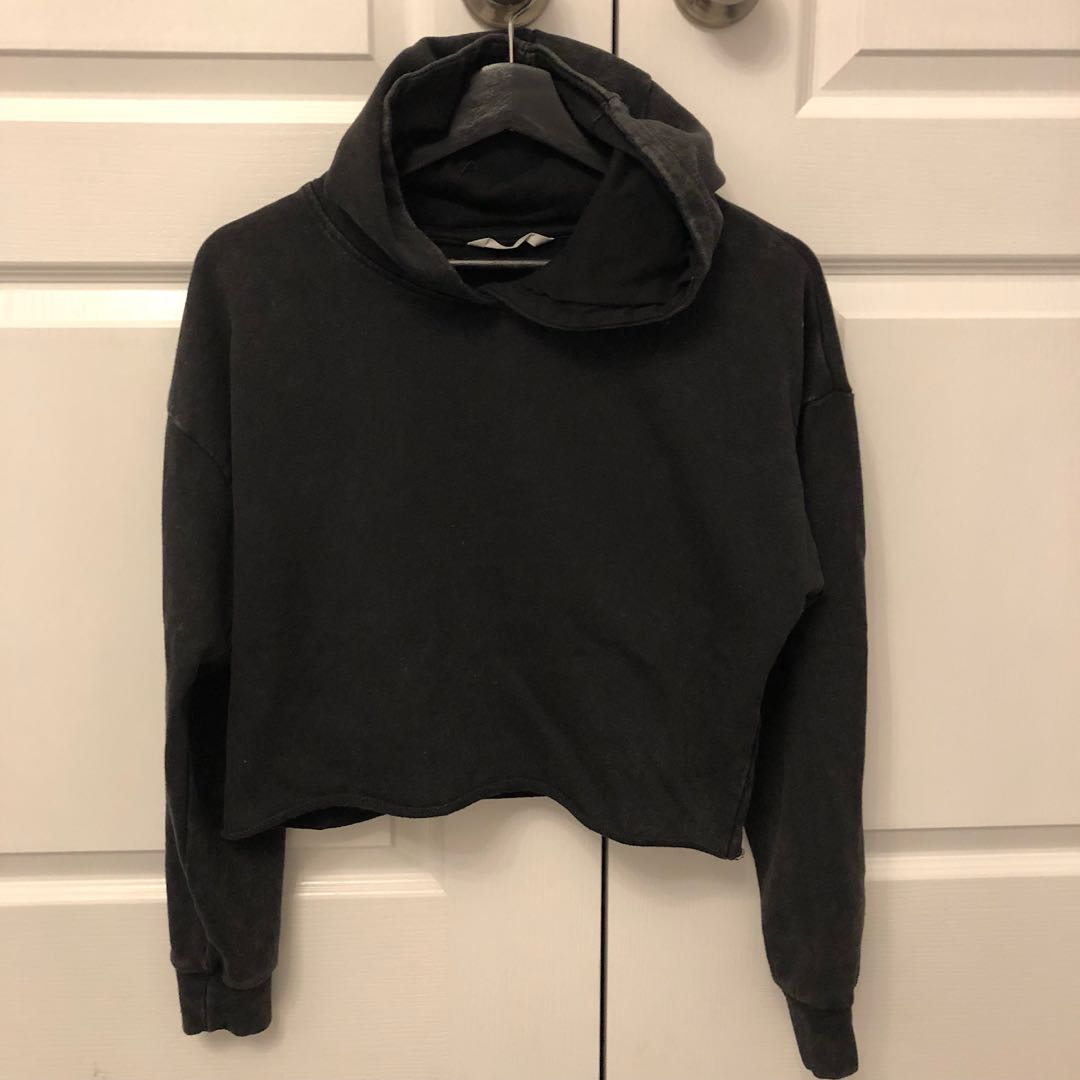 Bluenotes Cropped Hoodie