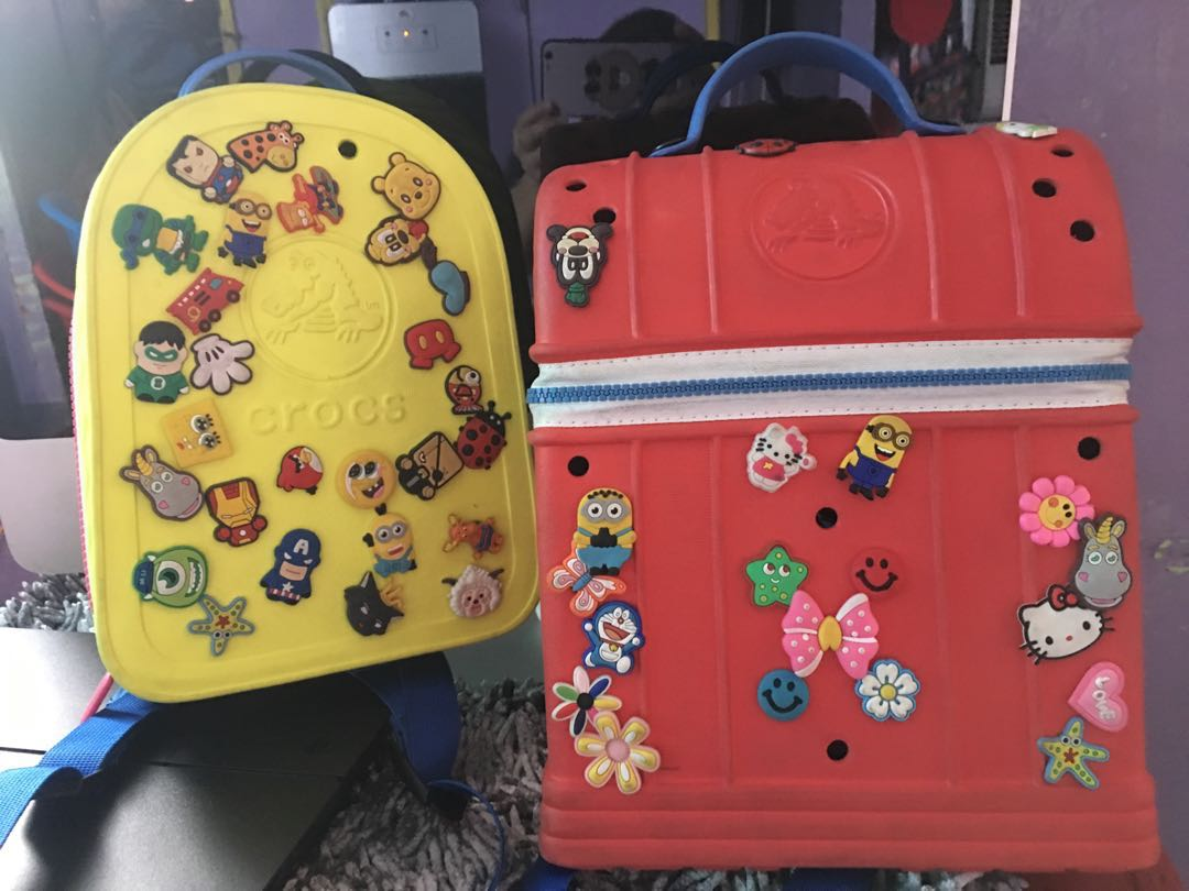 76fdfd6dd Buy 1 take 1 crocs backpack for kids almost same in the original ...