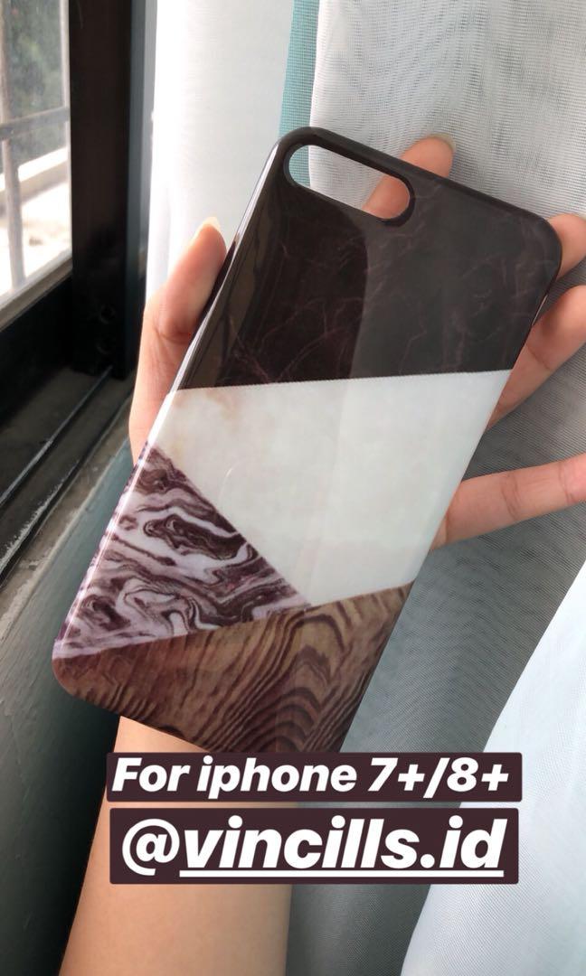 case marble iphone 7 8 X + plus