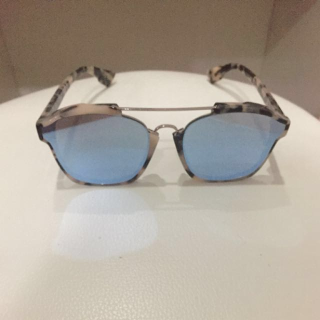 vast selection the sale of shoes quite nice Christian Dior Sunglasses Aviator Abstract Tortoise
