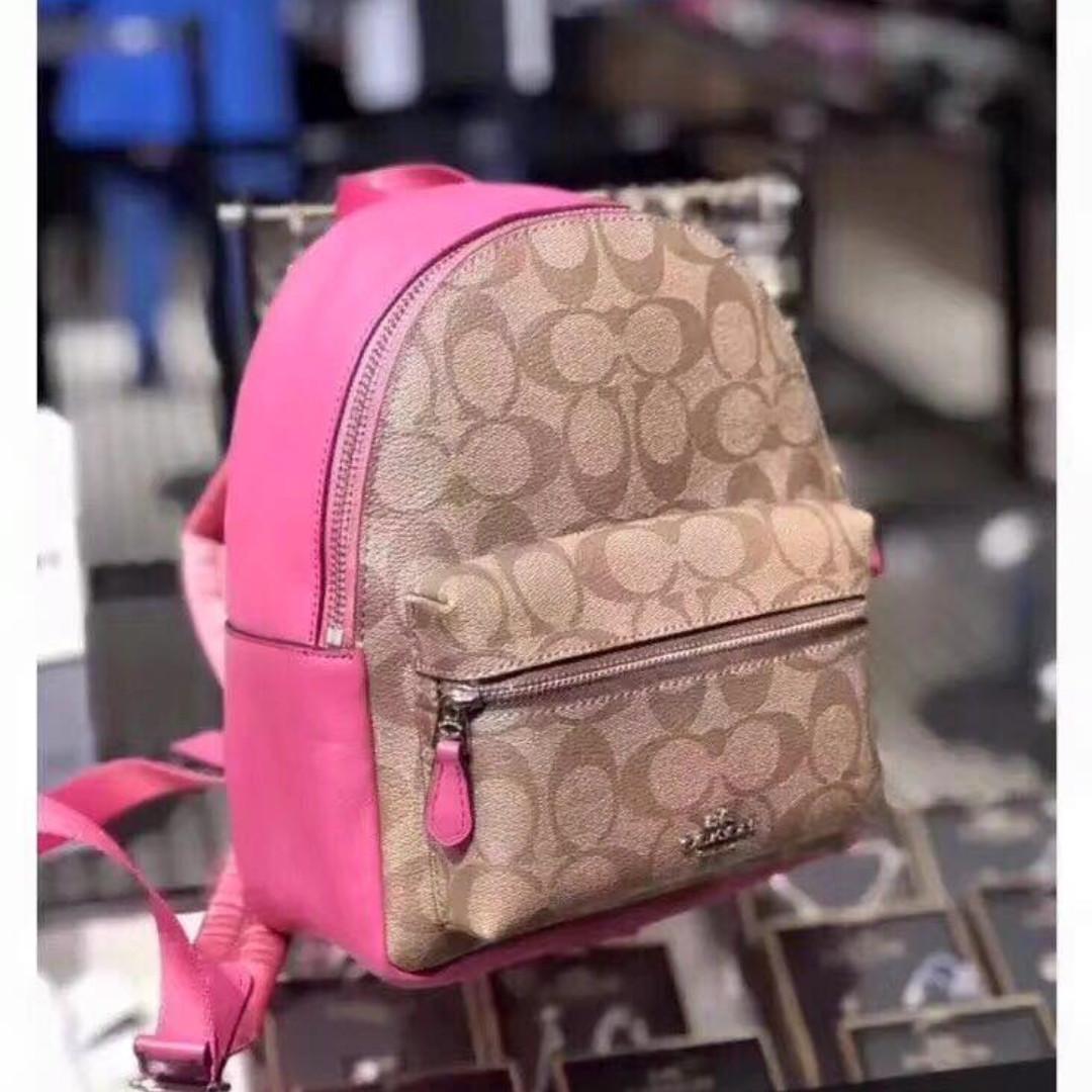 8e9717577b9f Coach Mini Backpack Pink- Fenix Toulouse Handball