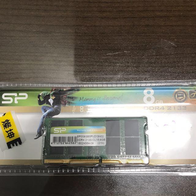 筆電專用DDR4 8G