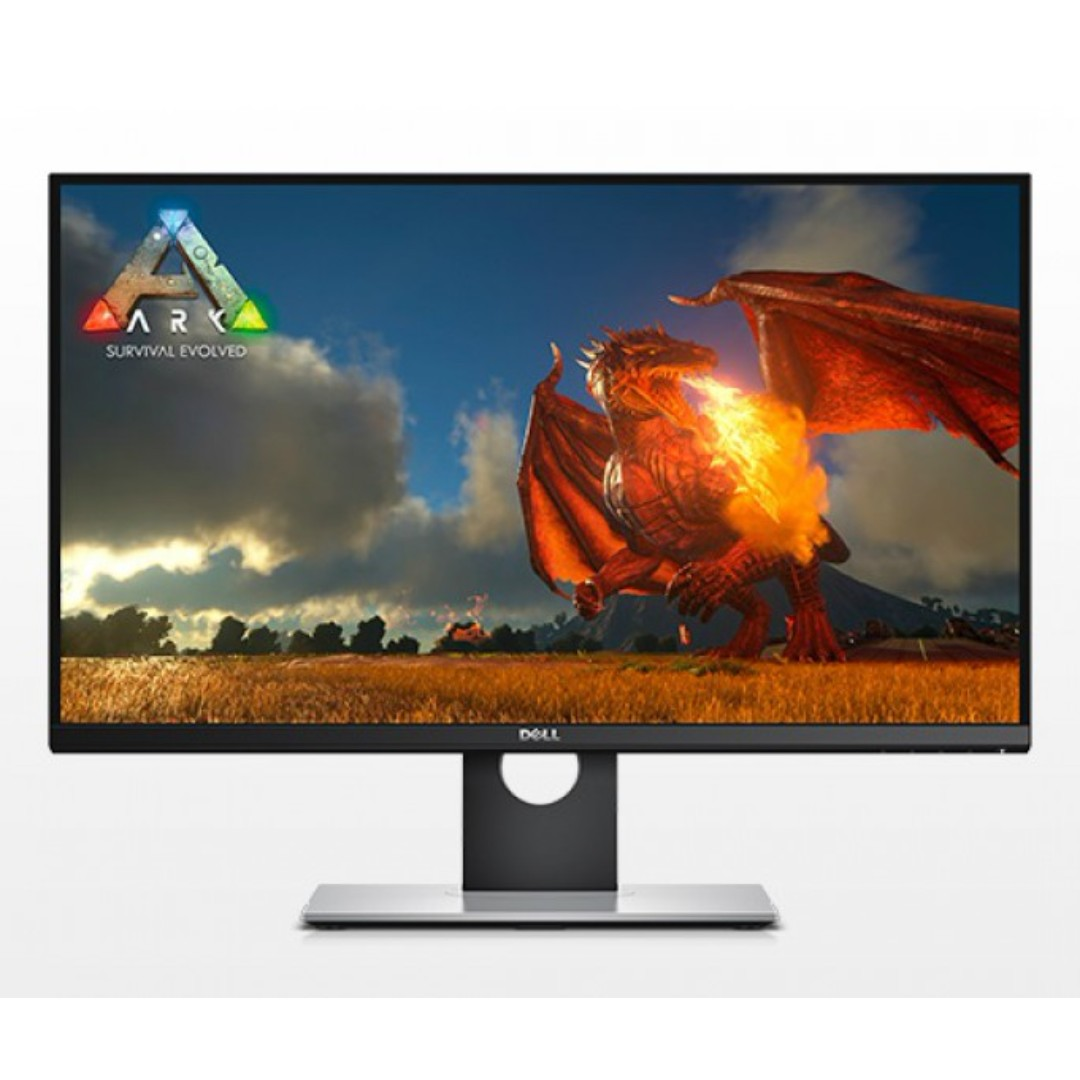 "dell s2716dg 27"" gaming monitor with wqhd 2560 x 1440 resolution 144"