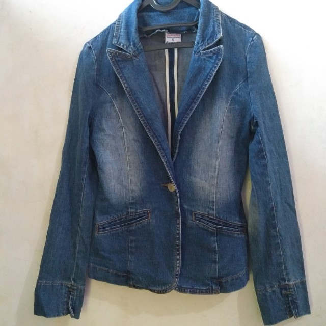 Denim Blazer Outer