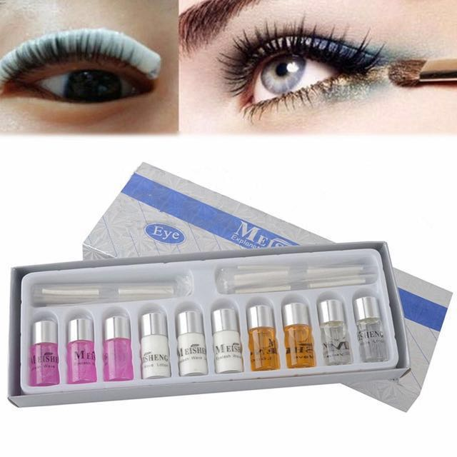 Diy Eyelash Perming Kit Health Beauty Makeup On Carousell