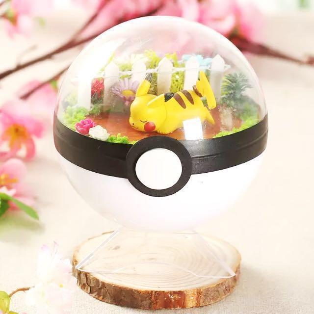 Diy Kit Pokemon Terrarium Design Craft Handmade Craft On Carousell