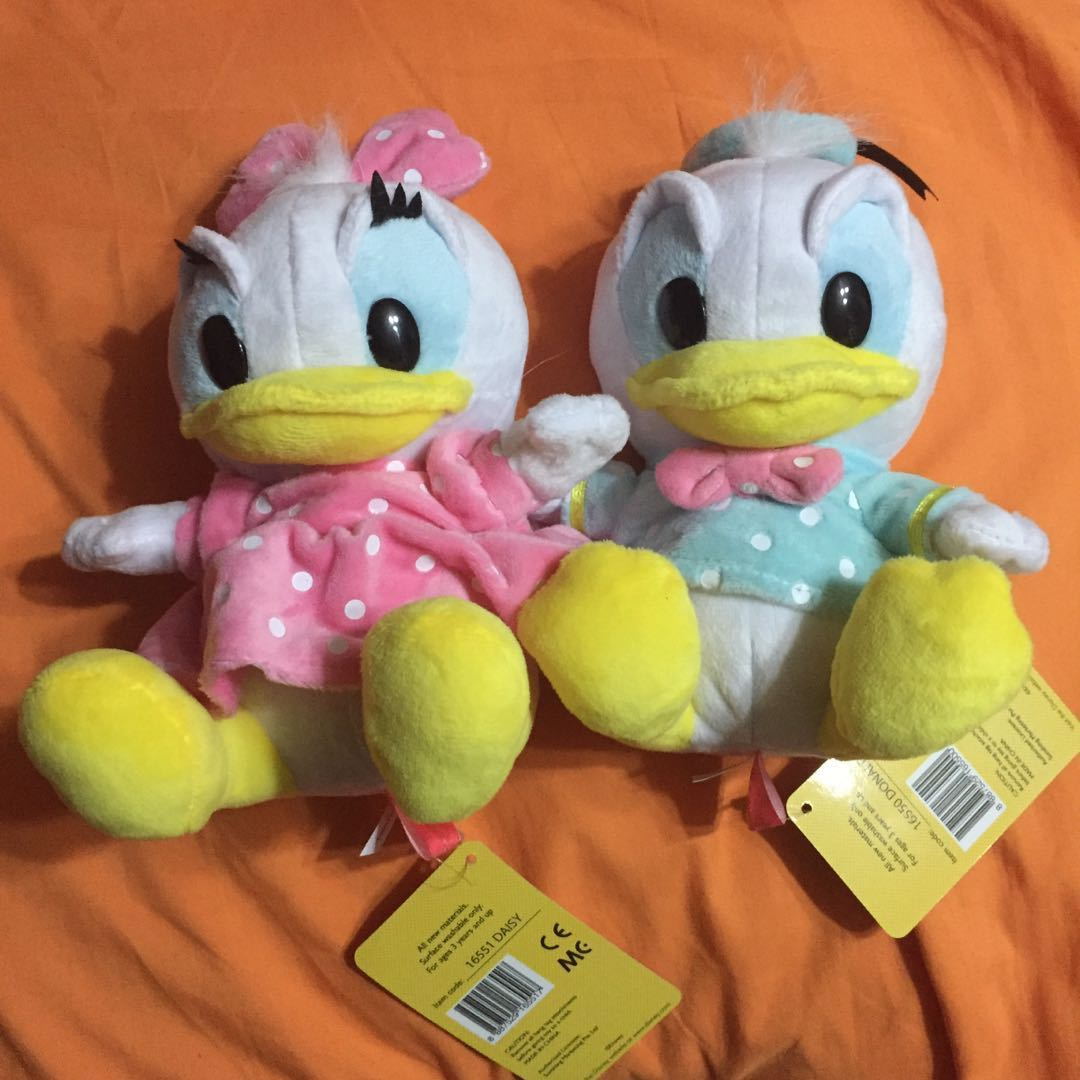 Donald And Daisy Duck Toys Games Bricks Figurines On Carousell