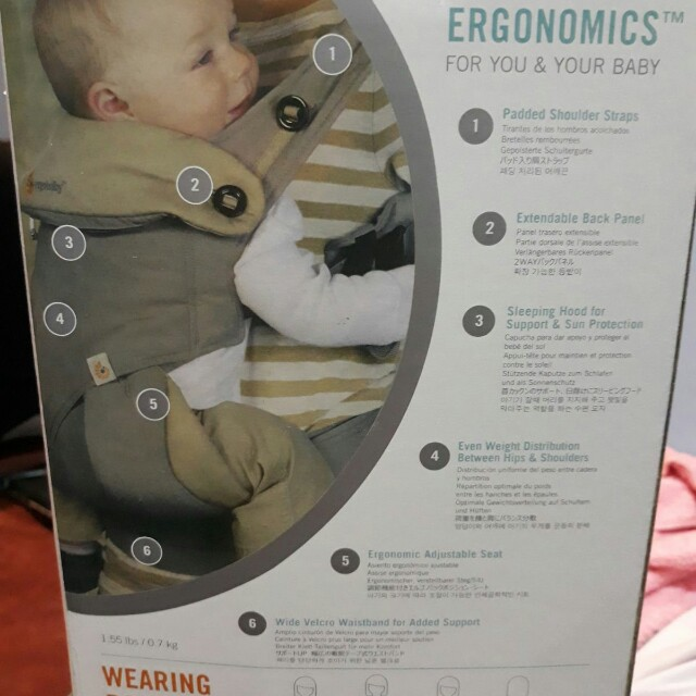 a41d260eb28 Ergobaby 360 Baby Carrier