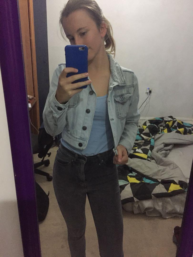 Factorie denim jacket size xs