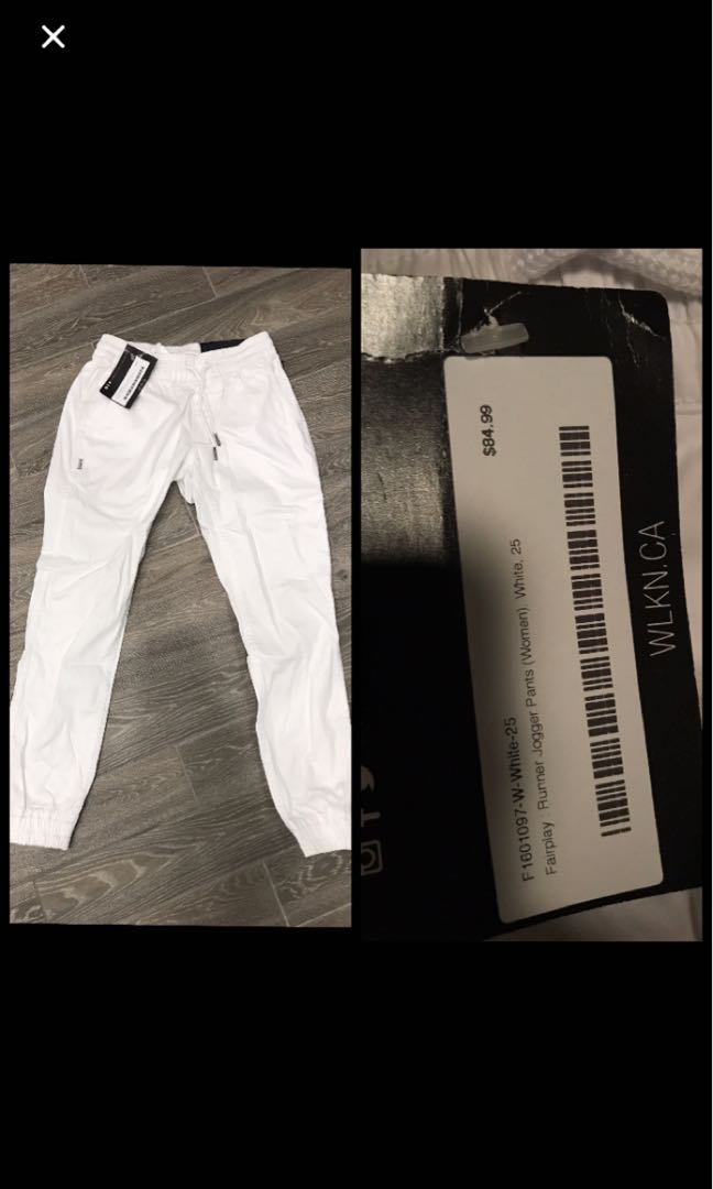 Fairplay joggers BNWT