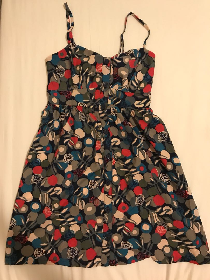 Forever 21 colourful floral dress