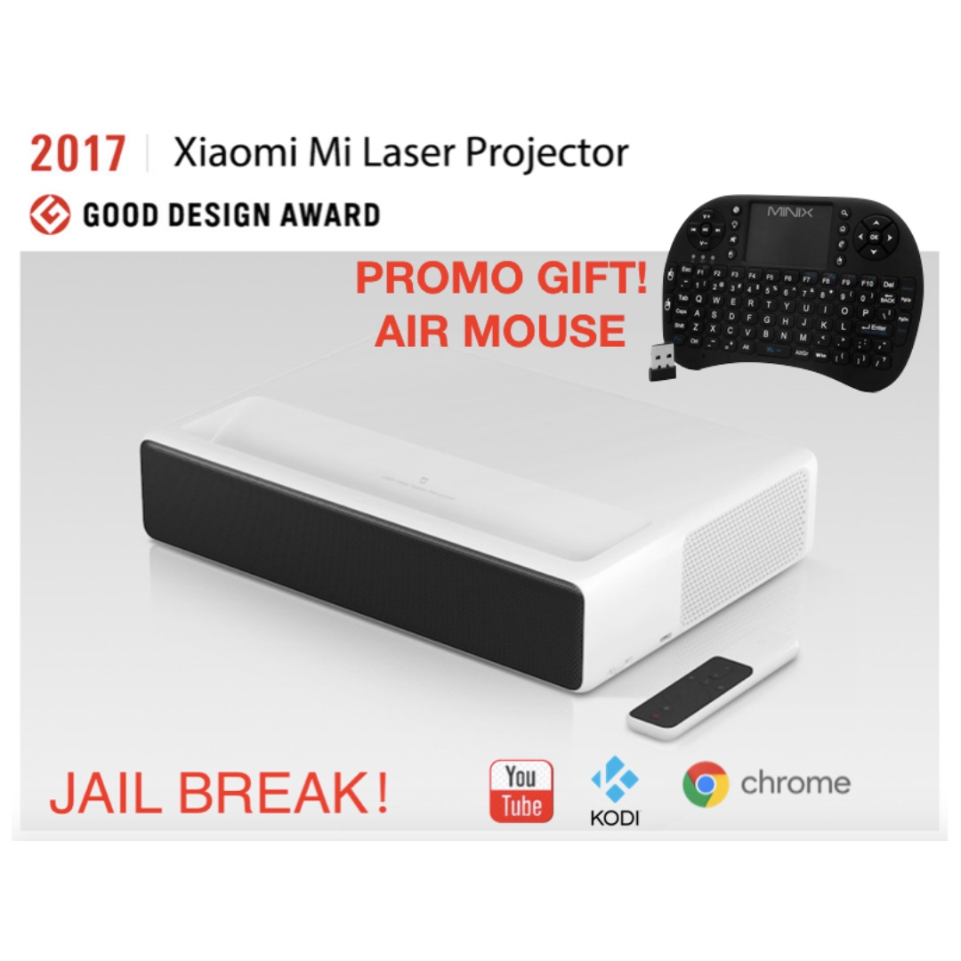 ☆Free shipping☆Xiaomi Mi Mijia Laser Projection TV 150