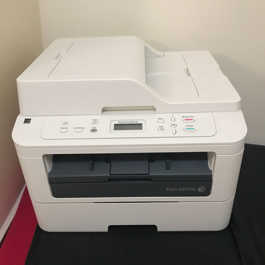 Fuji Xerox DocuPrint M225dw Printer and Scanner, Electronics