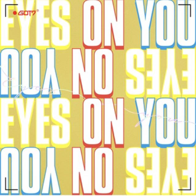 Got7 Eyes On you signed album by a member (from Mwave)