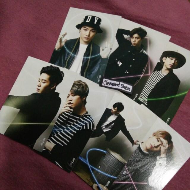 GOT7 Star Card SET