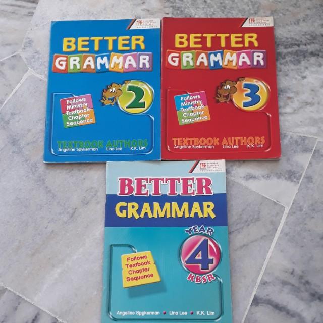 Grammar Workbooks x3