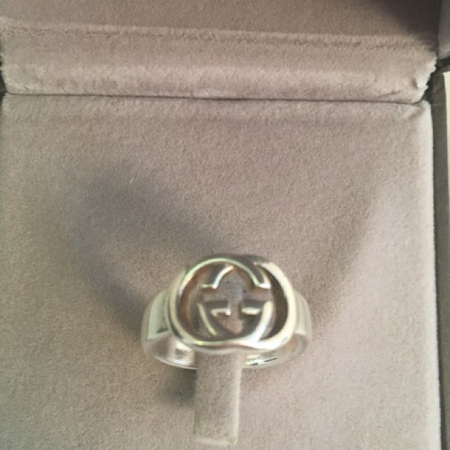 GUCCI GG ring size 5.5-6
