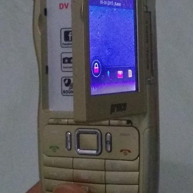 Handphone HP Prince PC-118 bisa nonton TV dan 4 Simcard GSM On Semua, Mobile Phones & Tablets on Carousell