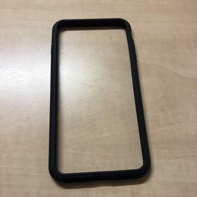 I8plus犀牛盾手機殼黑色