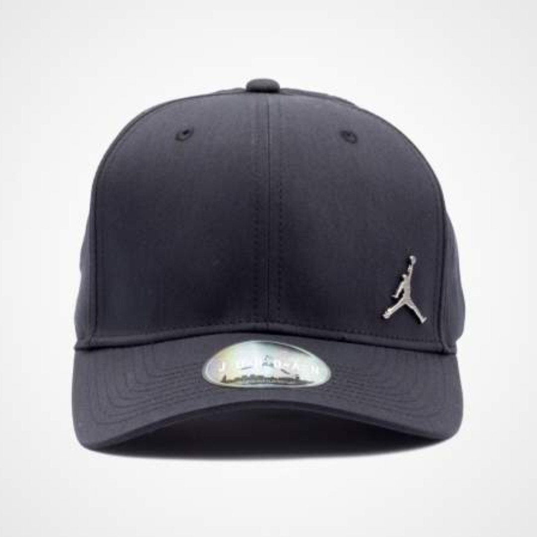 🔥In Stock🔥 Nike Jordan Classic99 Metal Jumpman Hat (Black) 308a678e6dc