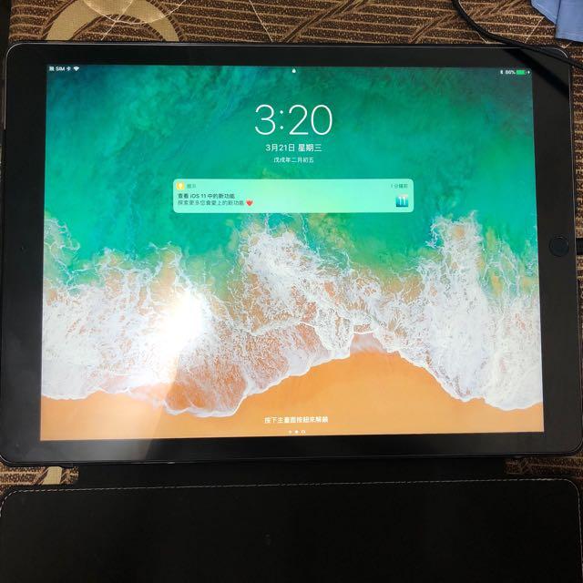 iPad Pro 12.9吋 128g 灰 LTE版 無傷