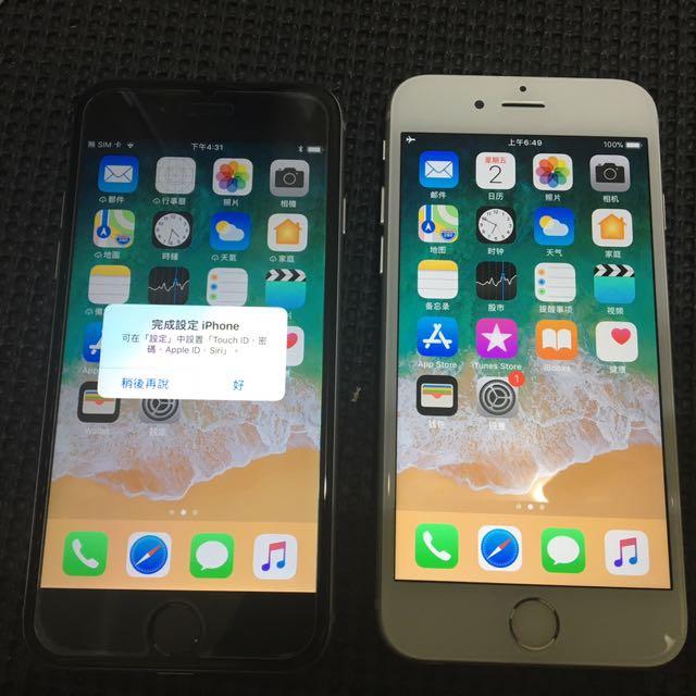 iphone 6s/64G 太空灰美機