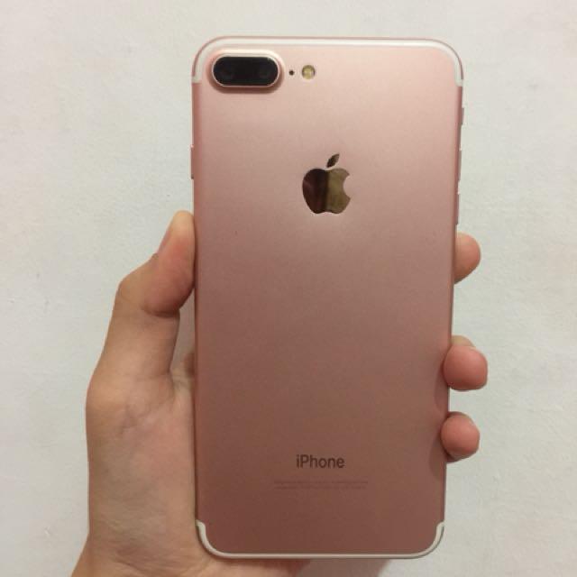 Iphone 7+ Rosegold hdc