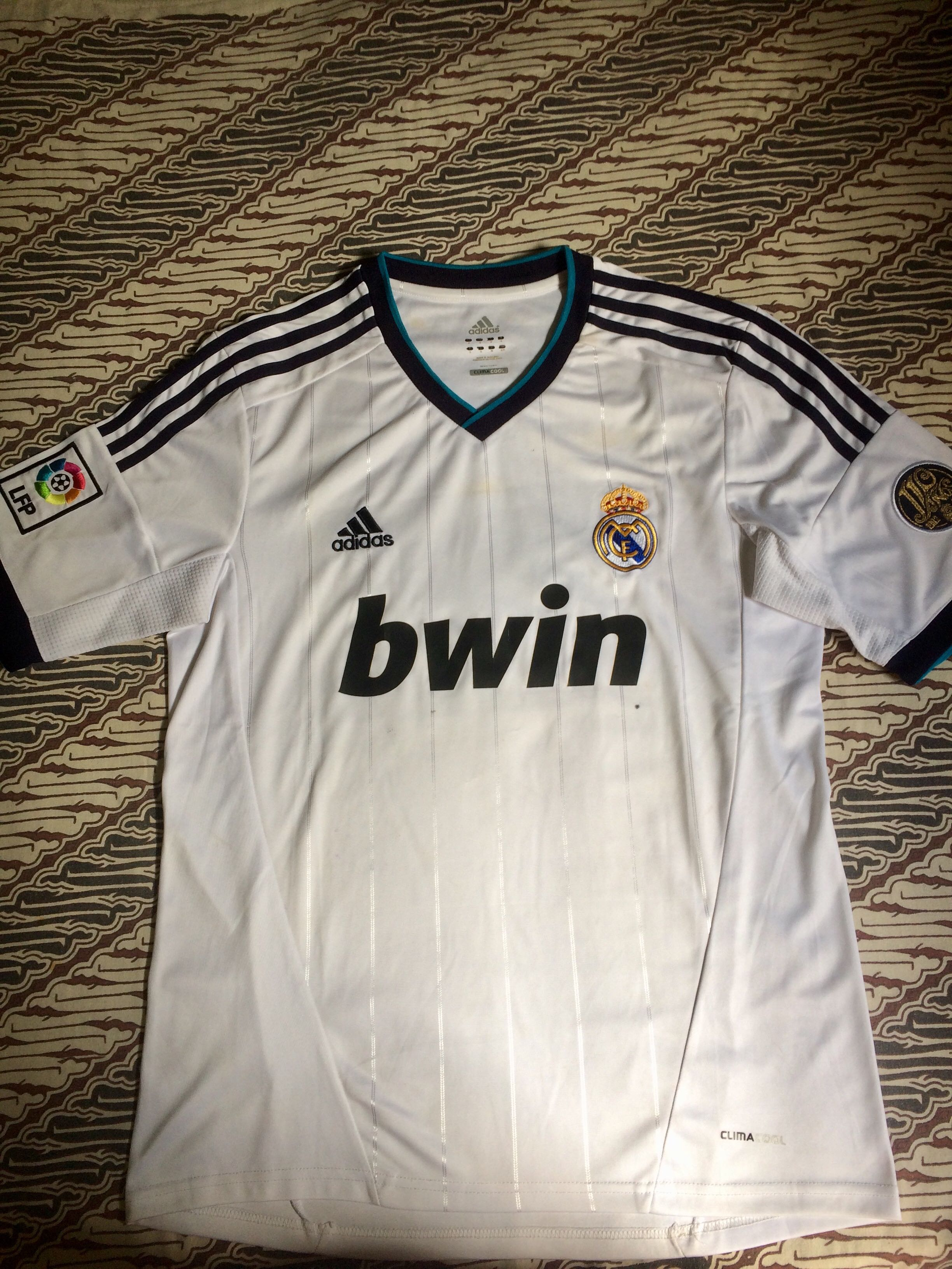 quality design 0871c 994ad Jersey Real Madrid Home 2012 Ori