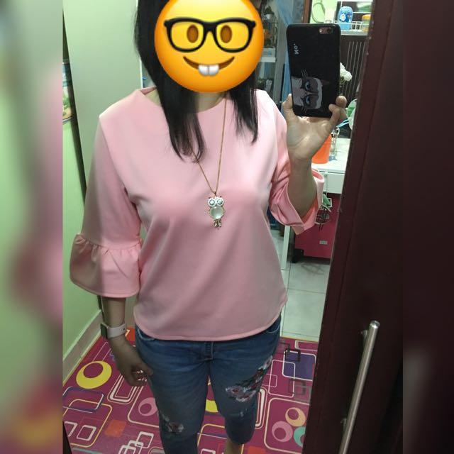 Jessy Pink Top