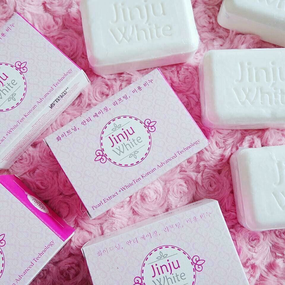 JINJU WHITE SOAP, Preloved Health & Beauty, Skin, Bath, & Body on ...