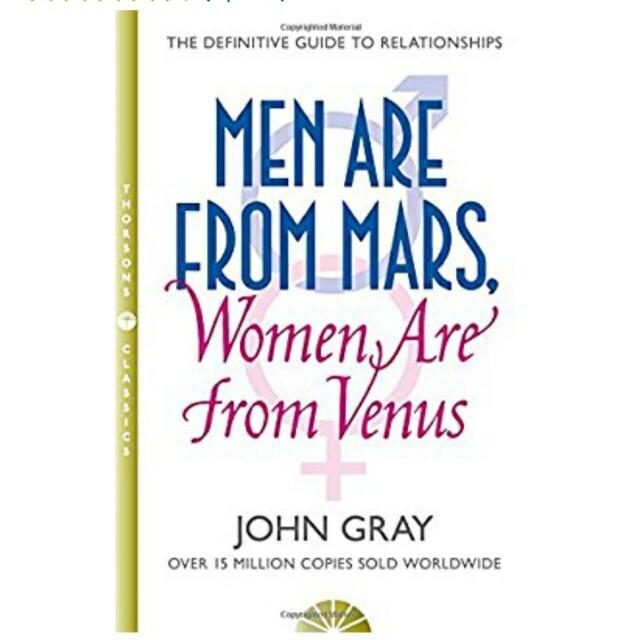 John Gray - Men are from Mars, Women are from Venus e-book