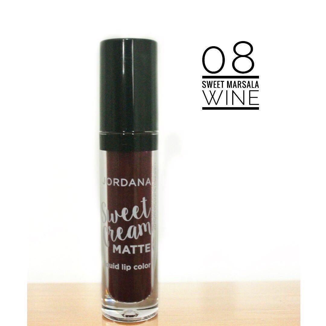 Jordana Sweet Cream Matte Liquid Lip Cream, Health & Beauty, Makeup on Carousell