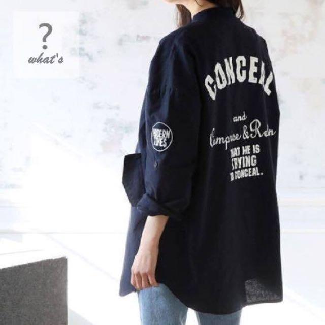 Korea 🇰🇷太空Style薄外套