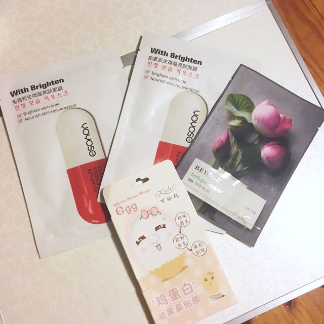 Korean face mask bundle