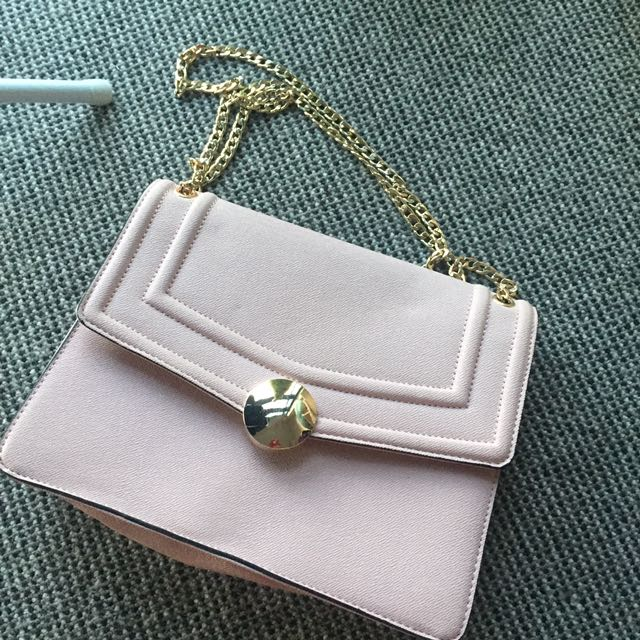 Leather Chained Shoulder Crossbody Bag