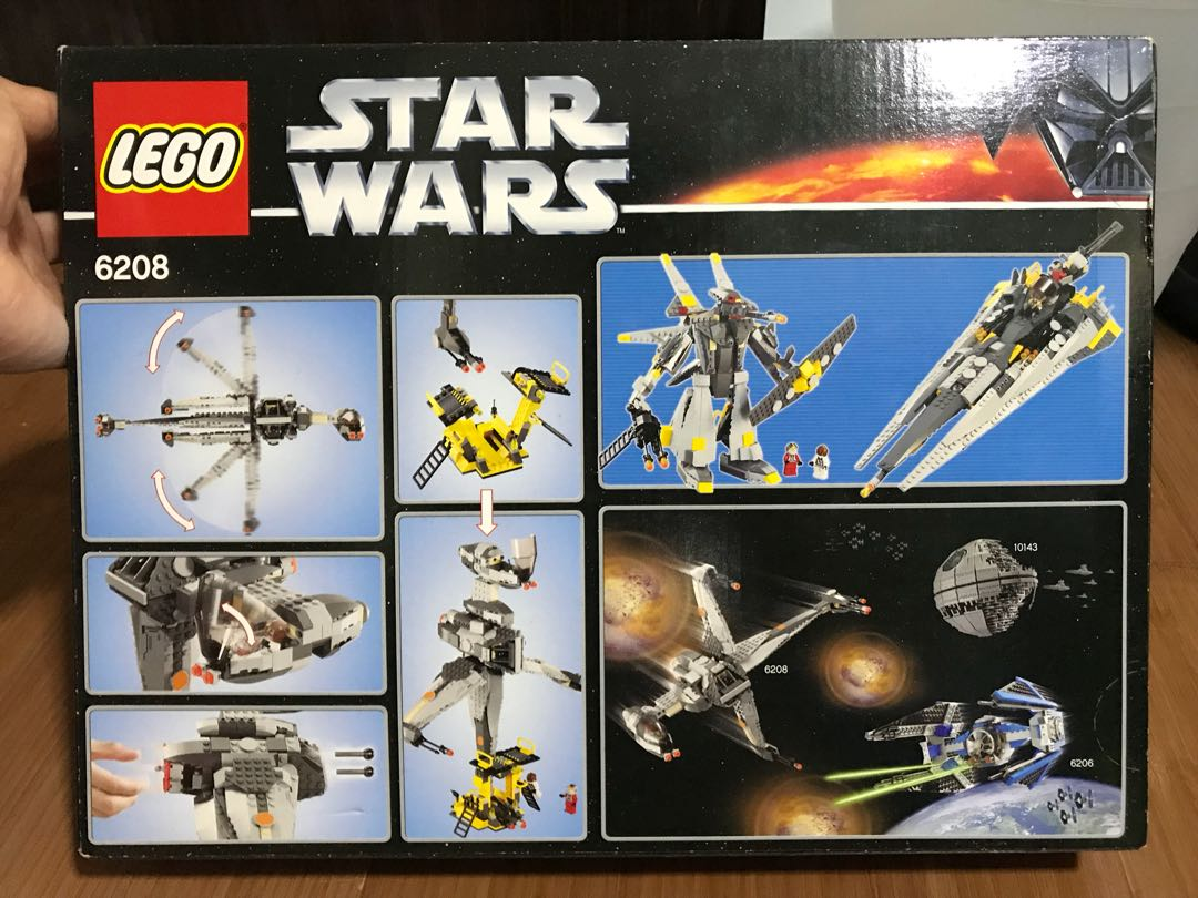 Lego 6208 B Wing Brand New Discontinued Set Must See Toys