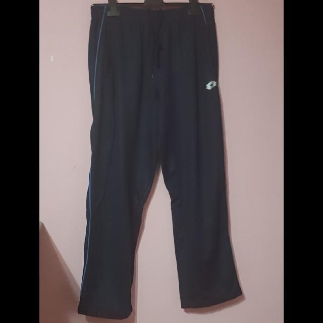 699bbee483566 Lotto Dark Blue Track pants/Sweatpants
