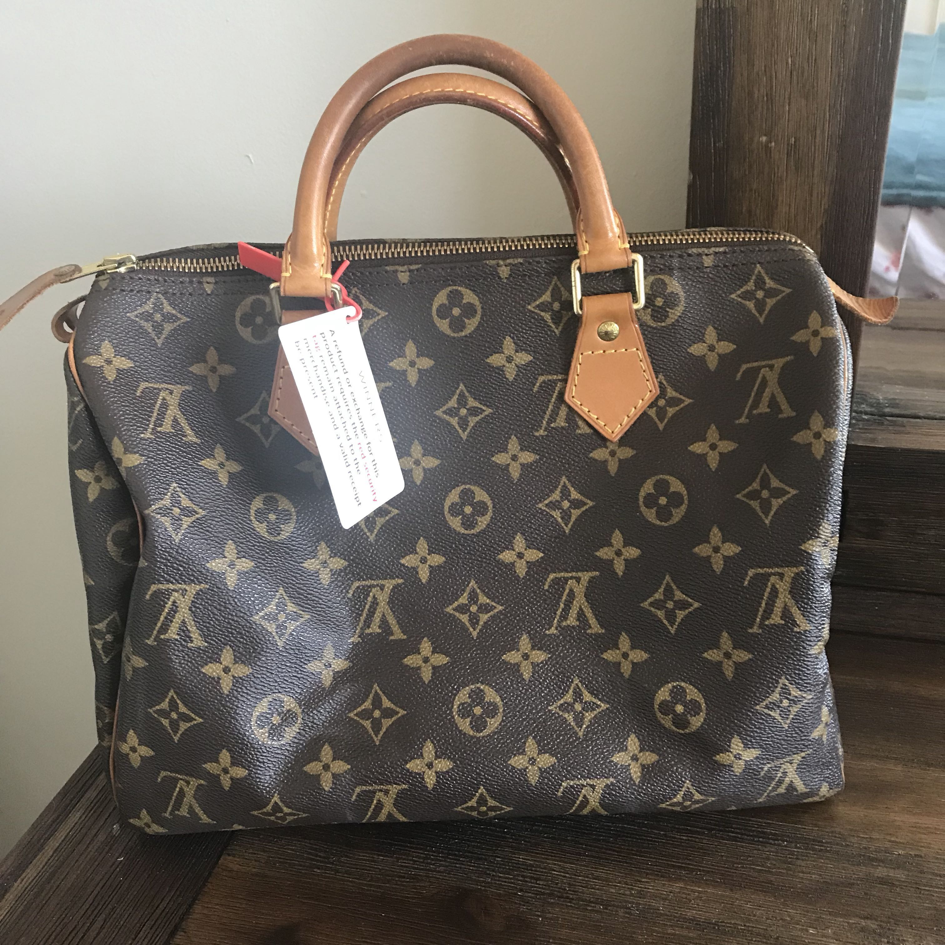 Louis Vuitton Speedy NM MNG Monogram With Receipt
