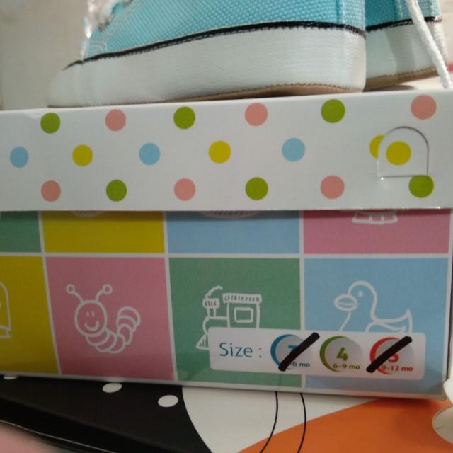 M and M baby shoes pre walker / sepatu bayi 6-9 bulan