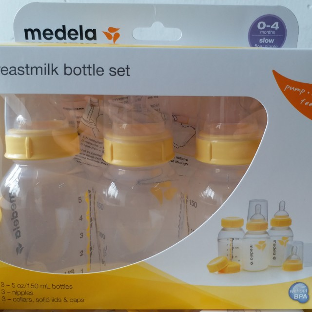 medela breastmilk bottle set (0-4m)