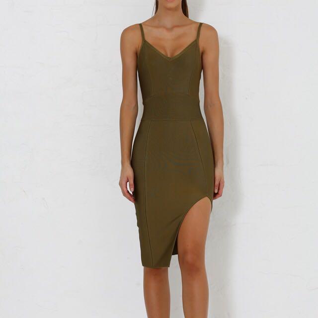 Meshki Bandage Dress