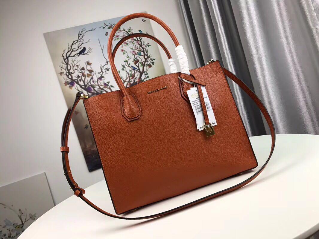 71f82bcc3 Michael Kors Mercer Tote Bag - Orange colour, Luxury, Bags & Wallets ...