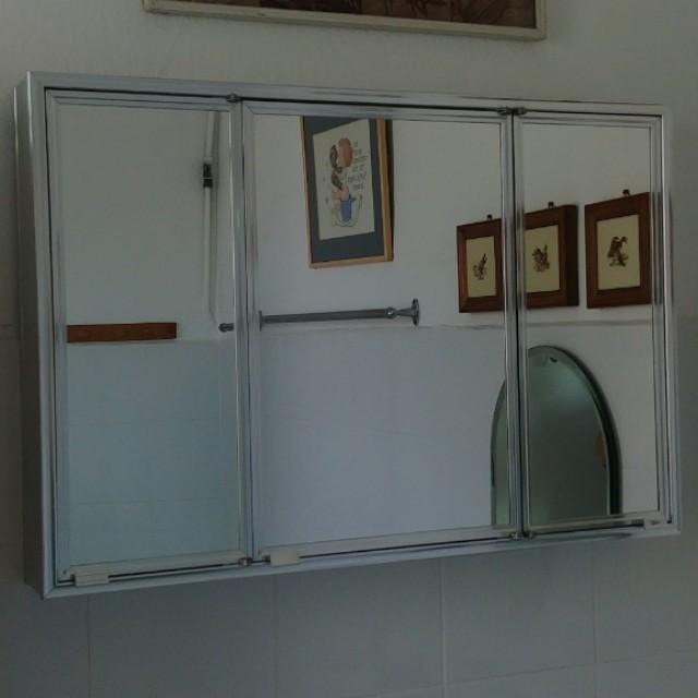 Mirror Wall Cabinet For Bathroom