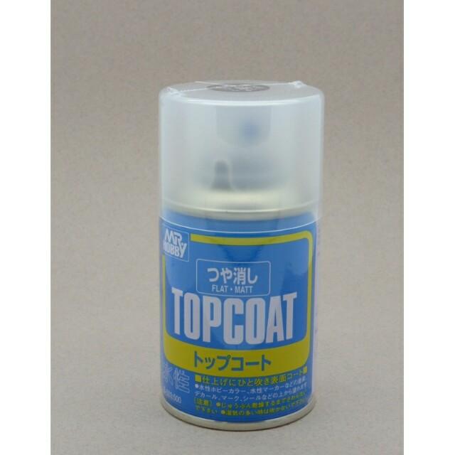 Mr.Hobby Topcoat Flat Matt Spray
